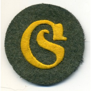 "Career arm-patch ""Schirrmeister"""