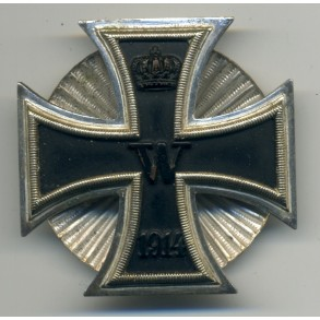 WW1 Iron Cross 1st class by W. Deumer, screwback