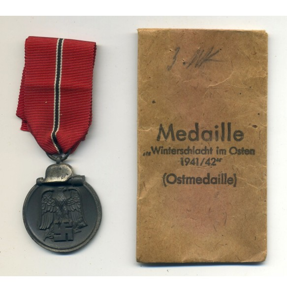 East front medal by C.F. Zimmermann + Package L/52!