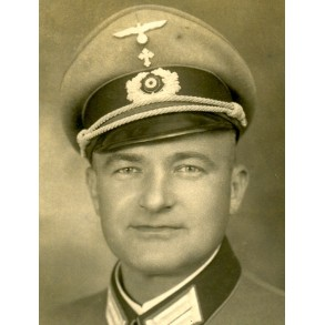 Portrait photo German Priest, rare!
