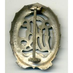 DRL sports badge in silver by H. Wernstein