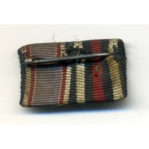 Ribbon bar with Luftschutz medal