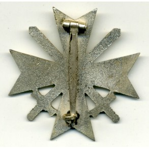 War Merit Cross 1st class with swords by C. Poellath