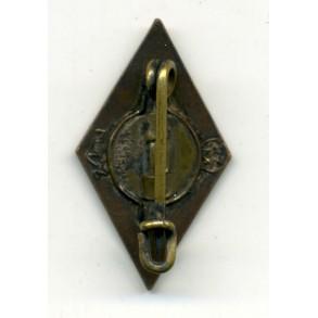HJ Diamond pin by K. Flensler