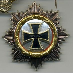 German Cross in Gold, '57 variant by Steinhauer & Lück