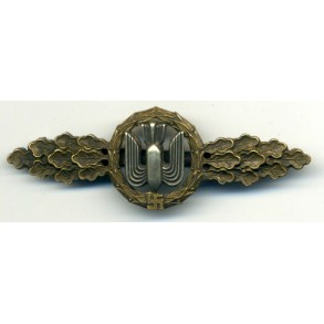 Luftwaffe bomber clasp in bronze