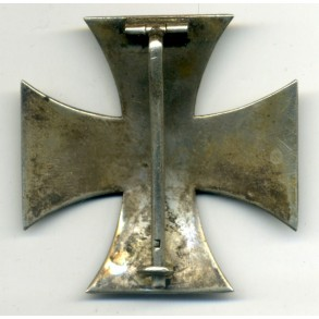 """WW1 Iron cross 1st class with """"square maker punch"""""""