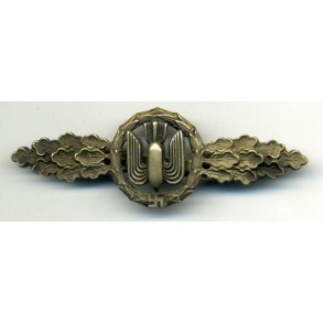 Luftwaffe bomber clasp in silver