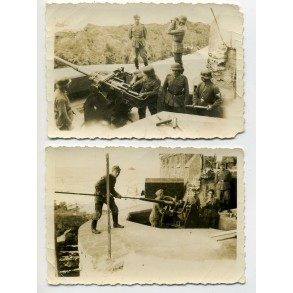2 private snapshots coastal artillery unit