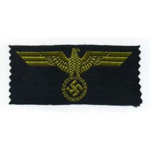 Kriegsmarine breast eagle, Belgian manufacturer