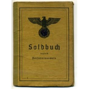 Soldbuch to Grenadier H. Fiedler, Gren. Btl 163, Ausb. Komp. 1944-45