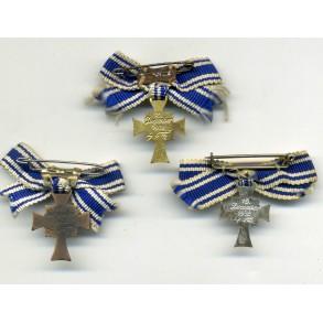 Set of 3 mother cross miniatures