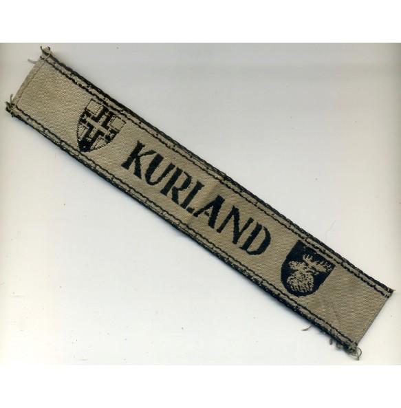 Kurland campaign armband