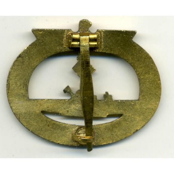 U-Boat badge by W. Deumer