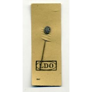 General Assault Badge 9mm miniature on LDO cardboard