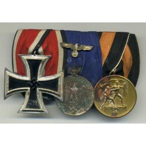 Medal bar with Schinkel Iron Cross