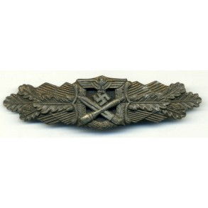 "Close combat clasp in bronze ""6 dot variant"""