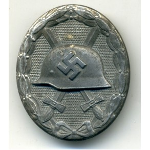 Wound Badge in Silver by  Foerster & Barth
