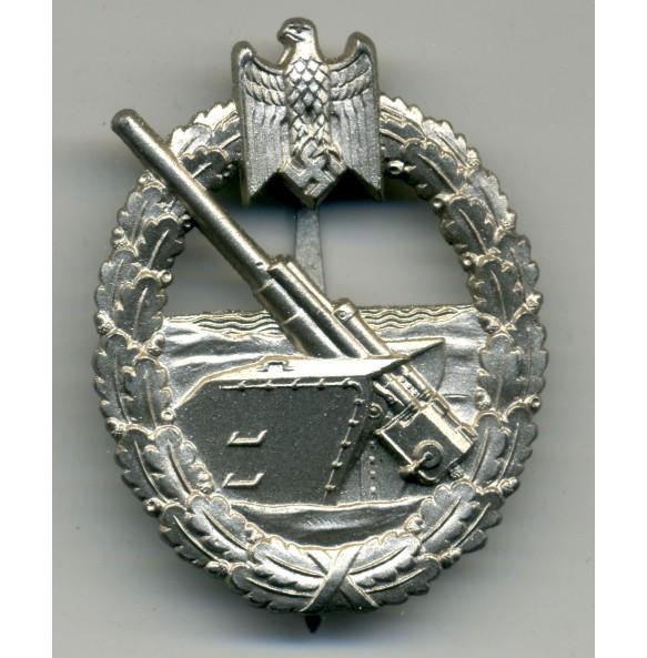 Coastal Artillery Badge by Funcke & Brüninghaus MINT