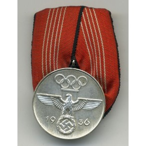 1936 Olympia medal, single mounted