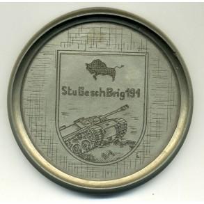 Remembrance plaque StuGesh Brig 191