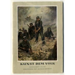 """""""Kunst dem Volk"""" by Prof. Hoffmann, Wehrmachtsausgabe"""