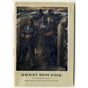 """""""Kunst dem Volk"""" by Prof. Hoffmann, Wehrmachtsausgabe."""