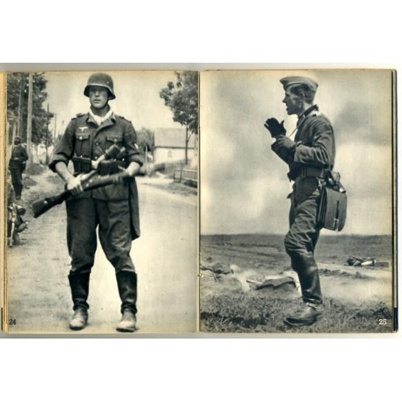"""""""Soldatenantlitz in der Schlacht"""" by Walter von Reichenau 1942"""