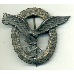 Luftwaffe pilot badge by F. Linden