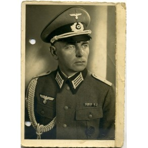 Portrait photo Pionier officer May 1940