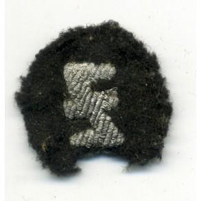 "Flemish collaboration ""Zwarte Brigade"" bullion cap insignia"