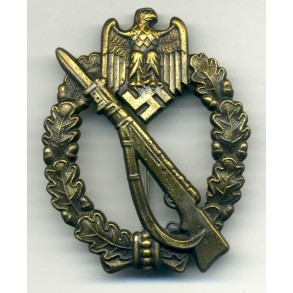 Infantry Assault Badge in Bronze by J.Feix & Söhne