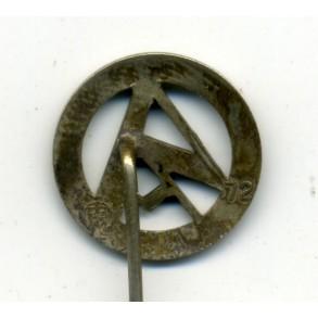 SA membership stickpin by F. Zimmermann