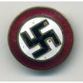 Party pin, early illegal Austrian variant