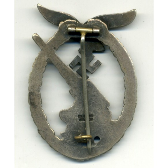 Luftwaffe flak badge by C.E. Juncker