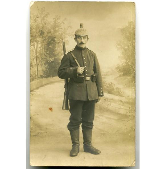 WW1 Portrait photo artillery soldier