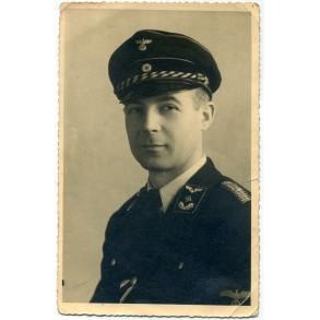 Portrait DRB officer with War Merit Cross 2nd class, Brescia, Italy