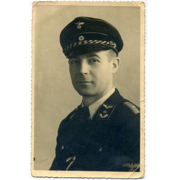 Portrait DRB officer with War Merit Cross 2nd class, Brescia, Italy
