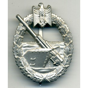 Coastal Artillery Badge by Funcke & Brüninghaus MINT