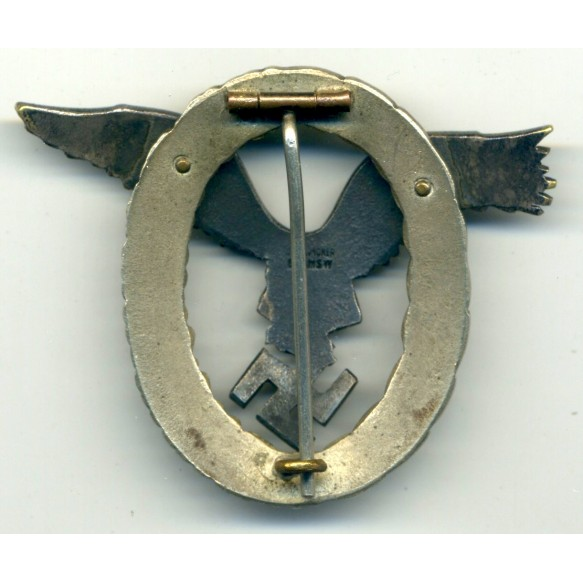 Luftwaffe Pilot Badge by C.E. Juncker