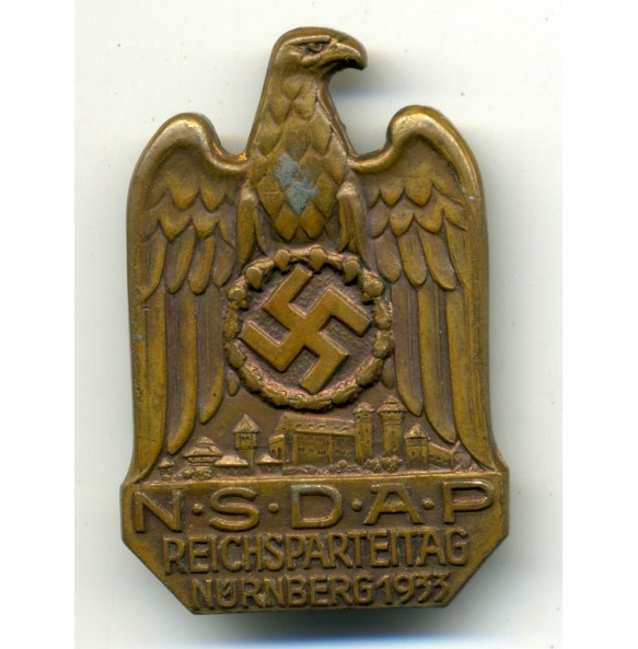 Reichsparteitag Nürnberg 1933 badge