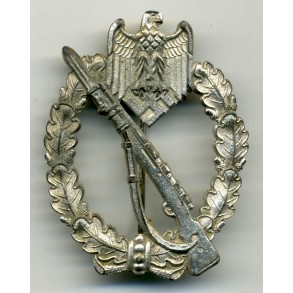 Infantry Assault Badge in silver by Deschler & Sohn