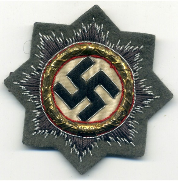 German Cross in gold for HEER troops