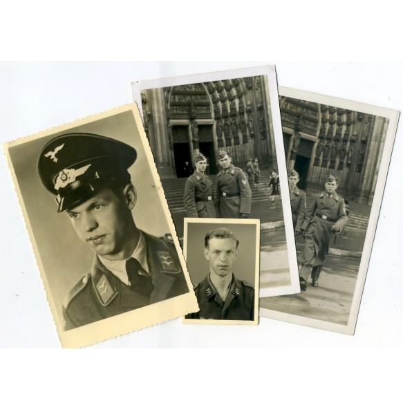 Small photo lot Luftwaffe Obergefreiter