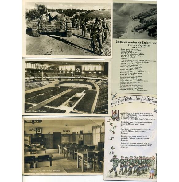 Various postcards lot