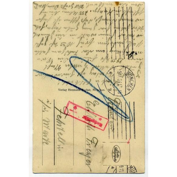 Postcard Feldherrnhalle Ehrenmal 1934!