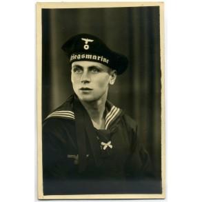 Portrait photo Kriegsmarine sailor