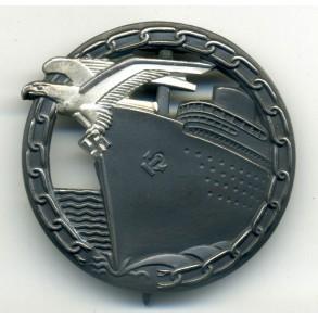 Kriegsmarine Blockade Runner Badge by Schwerin