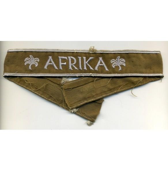 Afrika campaign cufftitle