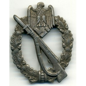 Infantry Assault Badge in silver by R.Simm & Sohne